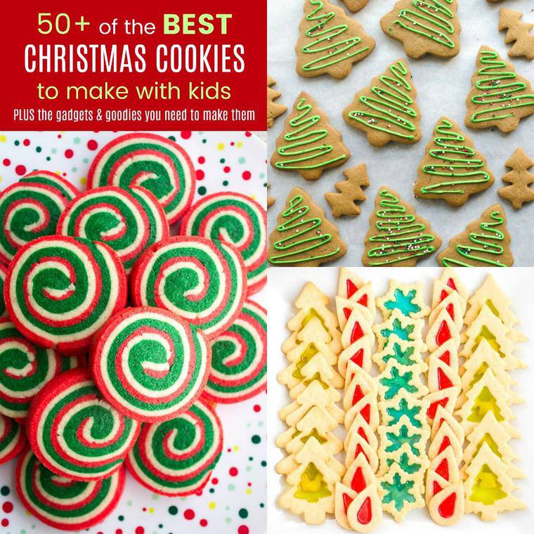 The Best Christmas Cookies For Kids Cupcakes Kale Chips