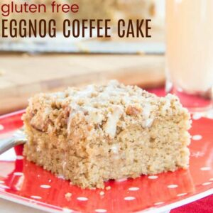 Gluten Free Eggnog Coffee Cake Featured Image