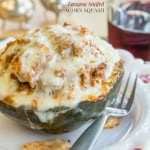 Lasagna Stuffed Acorn Squash for #SundaySupper