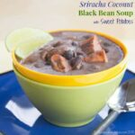 Spicy Coconut Black Bean Soup with Sweet Potatoes Recipe-4267 title