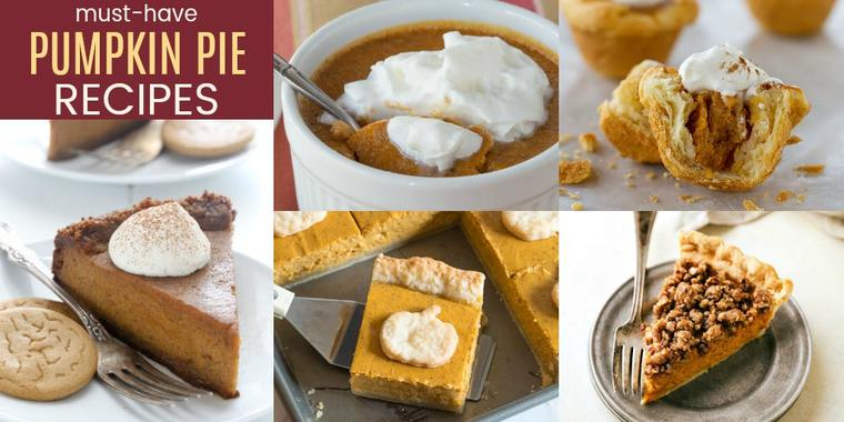 The Best Recipes for Pumpkin Pie for Thanksgiving