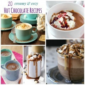 20 Hot Chocolate Recipes Square Collage