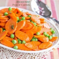 Browned Butter Peas and Carrots recipe-4023 title