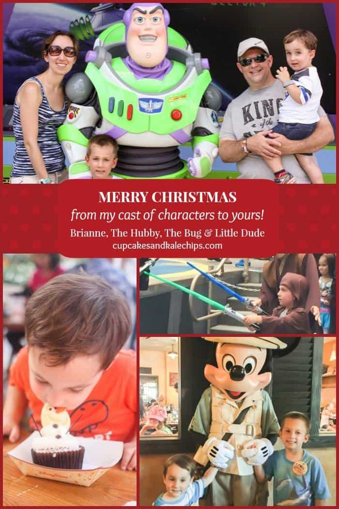 Christmas Card Collage blog
