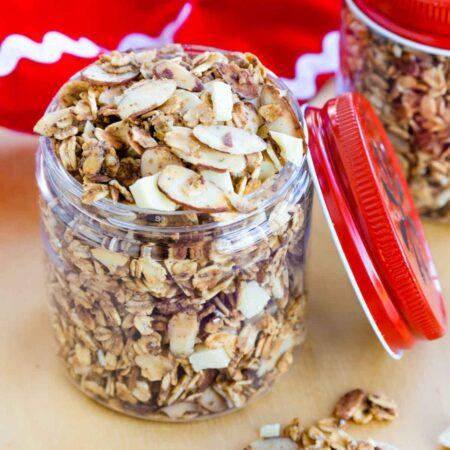 Slow Cooker Eggnog Granola