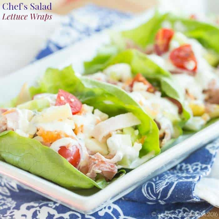 Chefs Salad Lettuce Wraps Cupcakes Kale Chips
