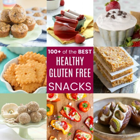100+ Healthy Gluten Free Snacks
