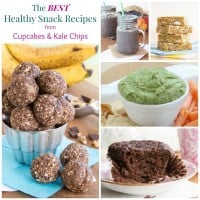 Healthy Snack Recipes Collage FB