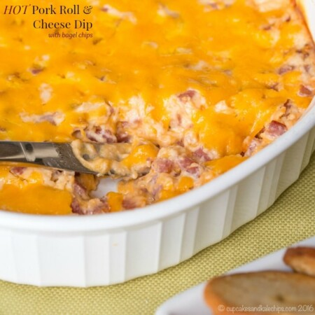 Hot Pork Roll and Cheese Dip for #SundaySupper