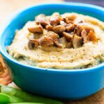 Mushroom and Roasted Garlic Hummus