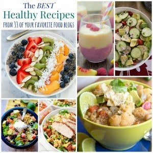 The Best Healthy Recipes Collage Square