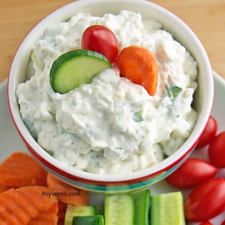 how to make cucumber dip