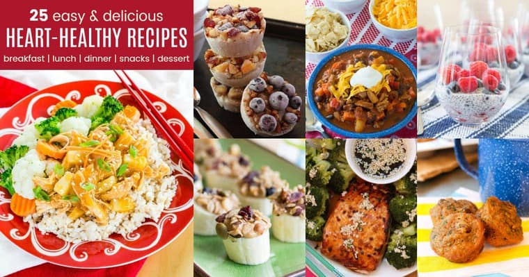 25 Heart Healthy Recipes Easy Meals For Heart Health Cupcakes Kale Chips