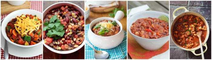 The Best Vegetarian Chili Recipes