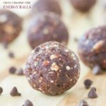 Cherry Chocolate Chip Energy Balls