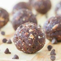 Cherry Chocolate Chip Energy Balls
