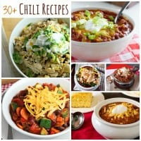 Chili Recipes Collage FB