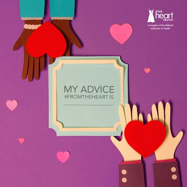 titled image for heart-health awareness