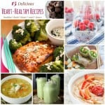 Heart Healthy Recipes Collage FB