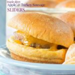 Maple Dijon Apple Turkey Sausage Sliders recipe-5625 title