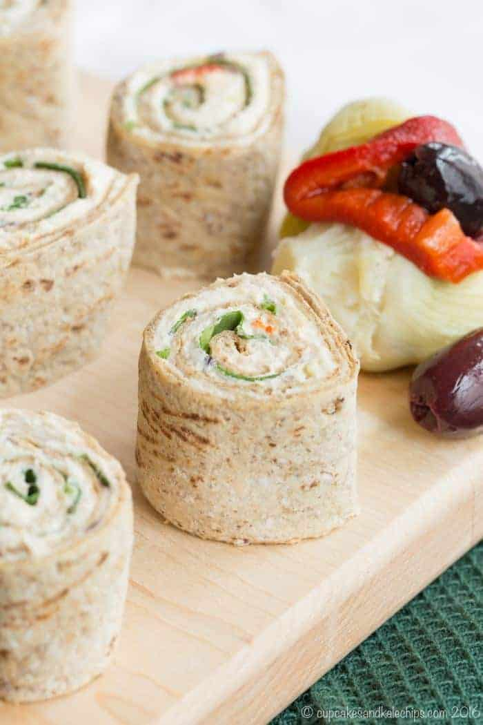 Mediterranean Chicken Pinwheels - one of the best no cook meals