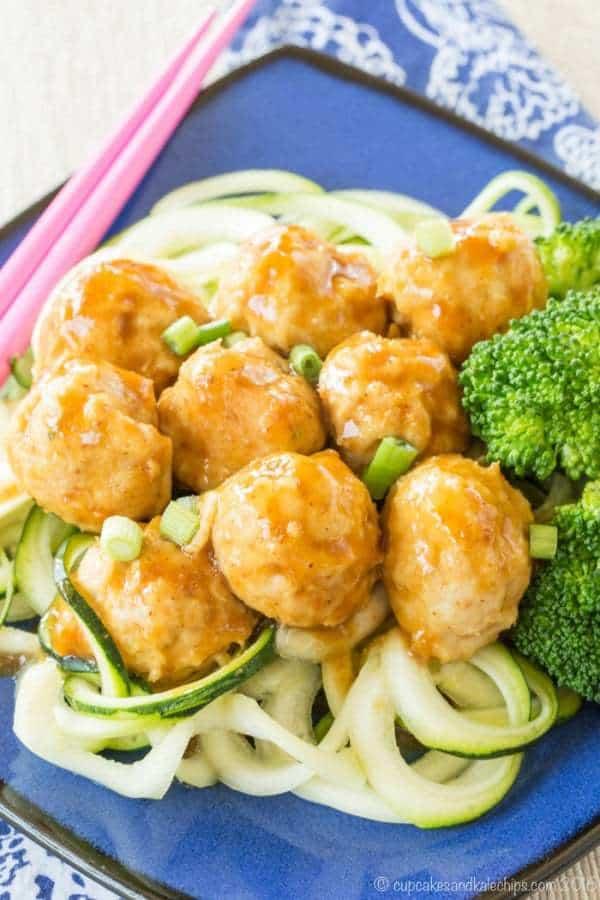 Paleo General Tso Chicken Meatballs Recipe