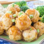 General Tso's Chicken Meatballs for #SundaySupper