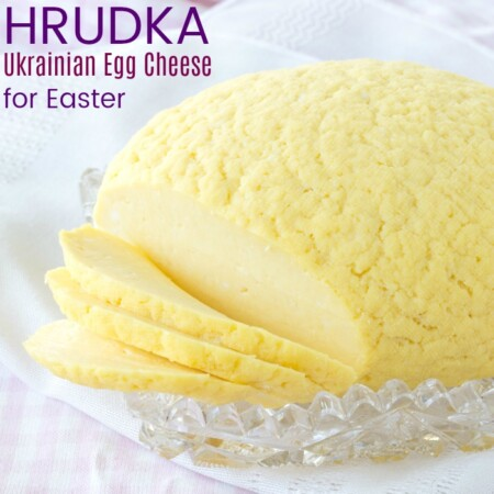 Hrudka Easter Ukrainian Egg Cheese recipe