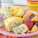 Broccoli, Ham and Cheese Egg Muffin Cups for #SundaySupper