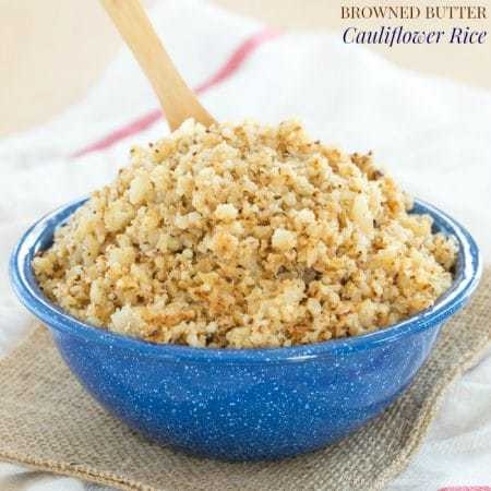 Browned Butter Cauliflower Rice recipe-6704 title