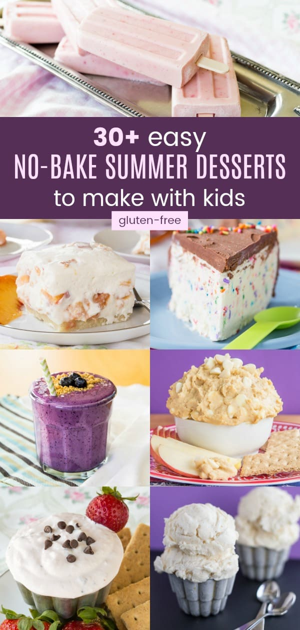Easy No-Bake Summer Desserts to Make with Kids