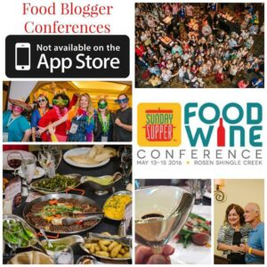 Food Wine Conference 2016 Collage
