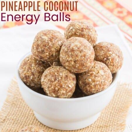 Pineapple Coconut Energy Balls