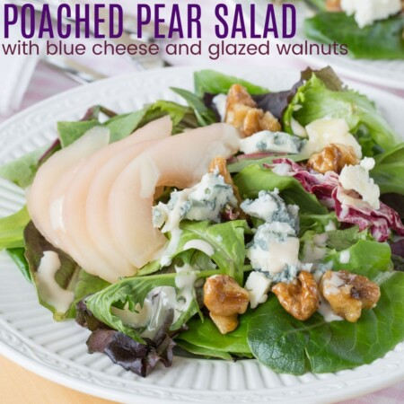 Poached Pear Salad square featured image