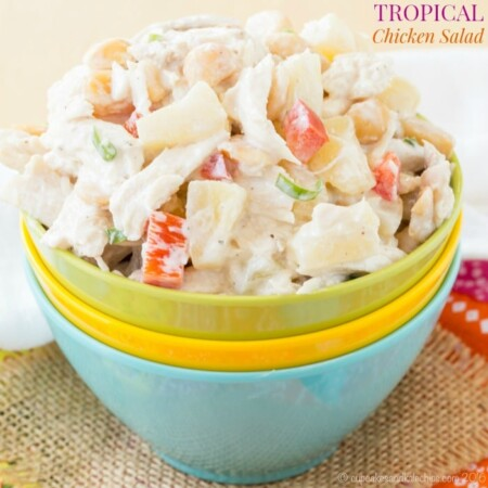 Tropical Chicken Salad recipe-6467 title