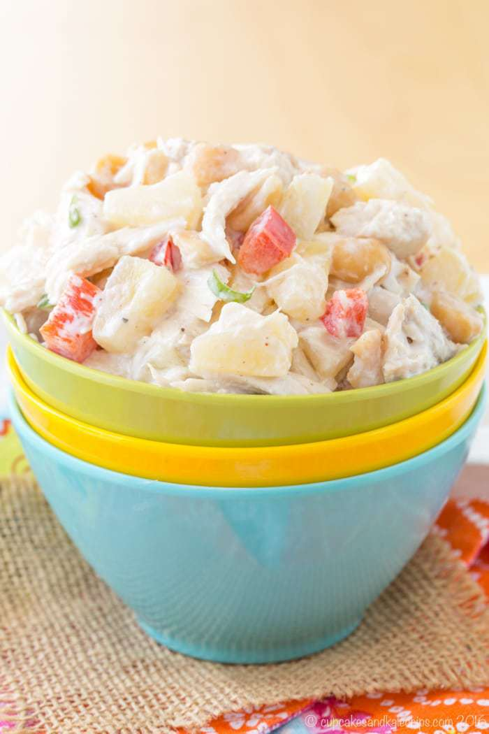 Tropical Chicken Salad - one of the best no cook meals