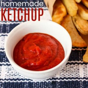 Homemade Ketchup Recipe featured image