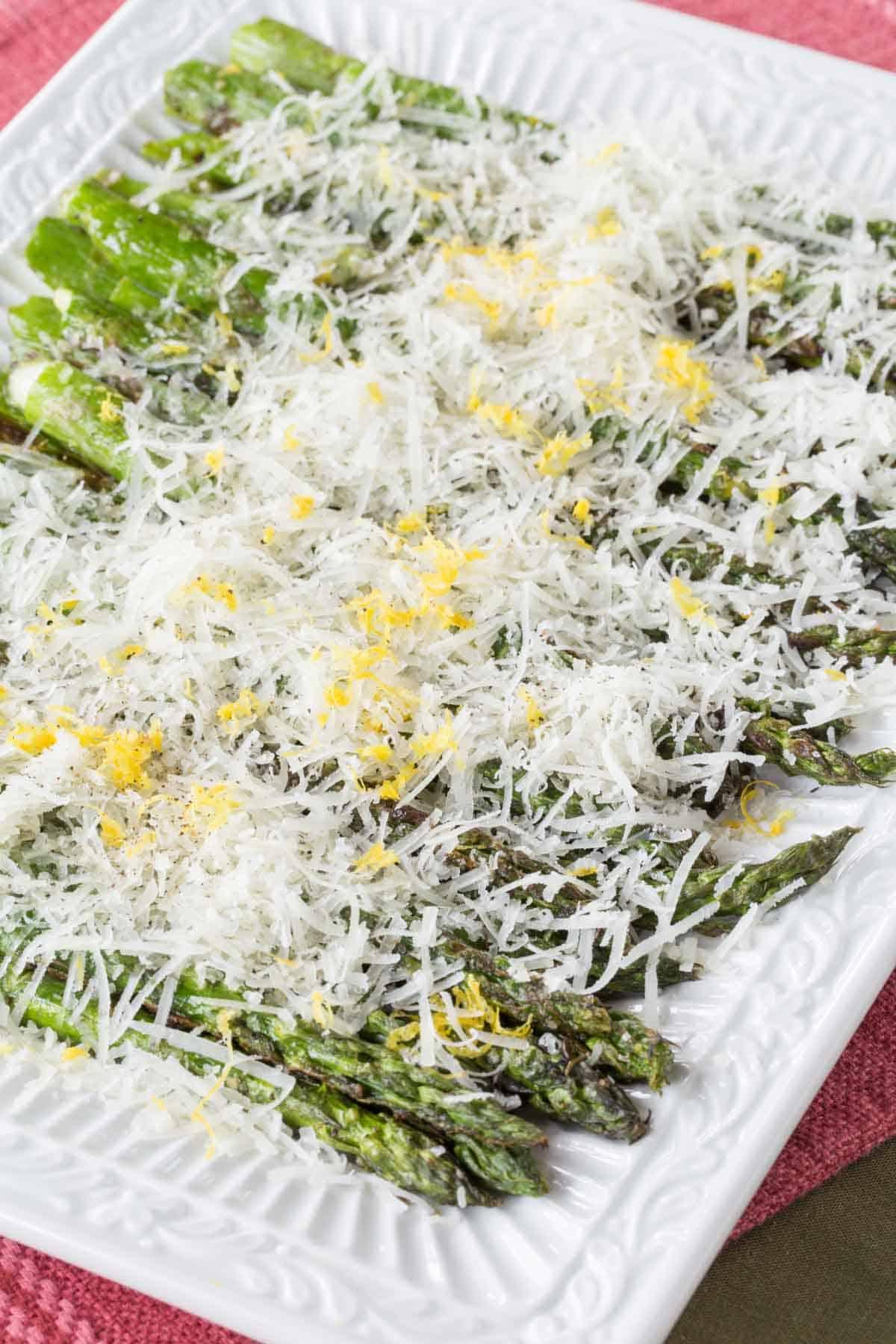 final plated asparagus recipe
