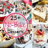 No Bake Dessert Recipes sq