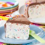 No-Churn Funfetti Ice Cream Cake