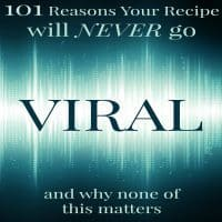 Reasons Your Recipe Will Never Go Viral Sq