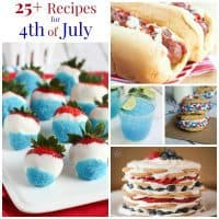 Fourth of July Recipes Collage Sq