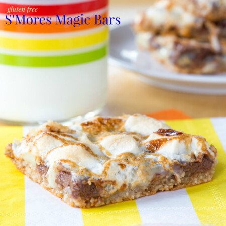 Gluten Free S'Mores Magic Bars