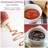 Homemade Ketchup Collage Sq
