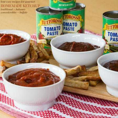 Homemade Condiments: 4 Variations of Homemade Ketchup