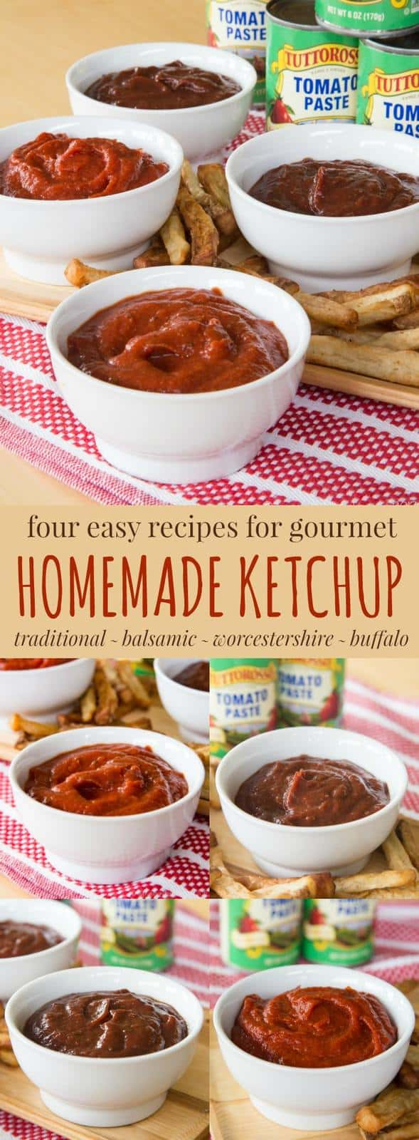 how to make tomato paste out of ketchup