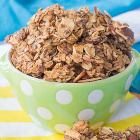 Maple Brown Sugar Granola Clusters