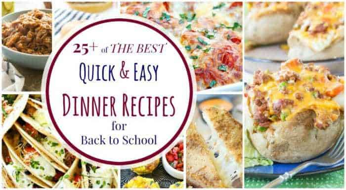 best quick and easy dinner idea