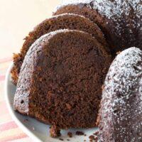 Gluten Free Chocolate Pumpkin Spice Cake