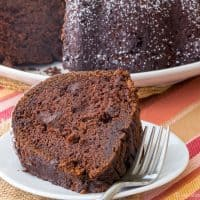Gluten Free Chocolate Pumpkin Cake